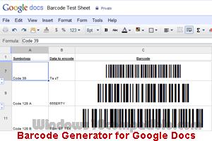 barcode 39 generator